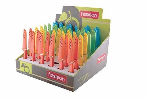 Овощной нож в чехле Fissman 20,5 см 7015