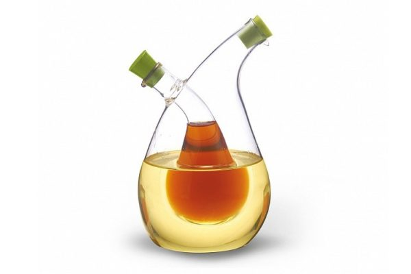 Бутылка для масла и уксуса 2 в 1 Fissman 75/350 мл 7522