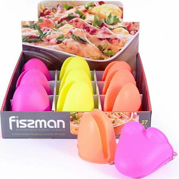 Силиконовая рукавица 10х7,5 см Fissman PR-7707.GL купить недорого онлайн
