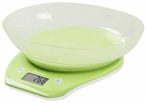 Весы кухонные электронные 22х21х6,6 см с чашей Fissman 0324 купить недорого онлайн