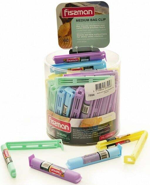 Зажим для пакетов 9 см Fissman PR-7594.BC купить недорого онлайн