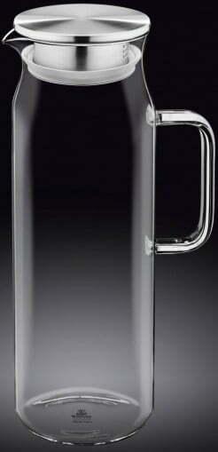 Кувшин стеклянный Wilmax 1500 мл WL-888210 / A купить недорого онлайн