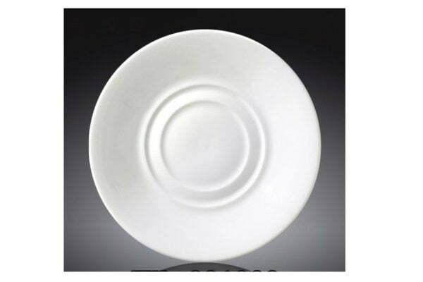 Блюдце универсальное из фарфора Wilmax 14 см WL-996099