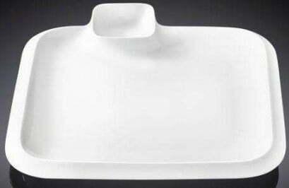 Блюдо Wilmax фарфоровое 26х26 см WL-992654 купить недорого онлайн