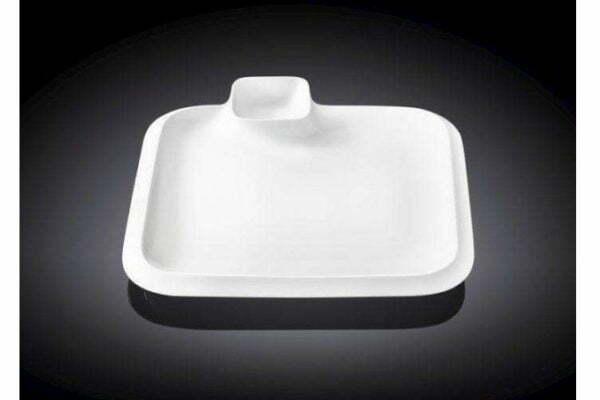 Блюдо Wilmax фарфоровое 26х26 см WL-992654 низкая цена