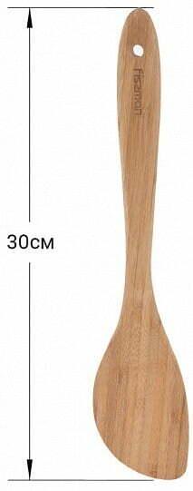 Бамбуковая лопатка Fissman 30 см 1387 низкая цена