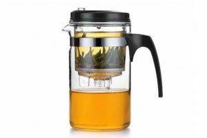 Чайник заварочный стеклянный 500 мл Fissman Gunfu купить недорого