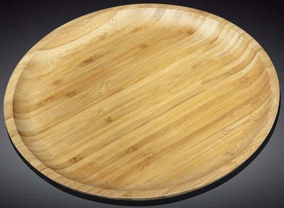 Блюдо из бамбука Wilmax Bamboo 35,5 см WL-771038 купить недорого онлайн
