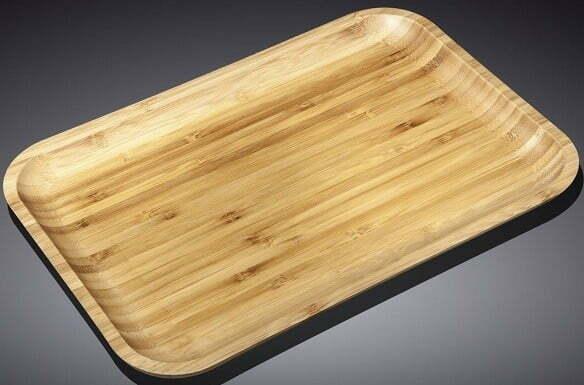 Блюдо бамбуковое Wilmax Bamboo 20,5х10 см WL-771050 купить недорого онлайн