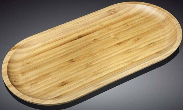 Блюдо Wilmax Bamboo бамбук 20,5х10 см WL-771057 купить недорого онлайн