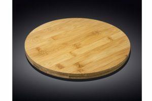Блюдо бамбуковое поворотное Wilmax Bamboo 30,5 см WL-771079