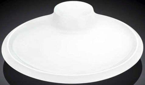 Блюдо круглое фарфоровое Wilmax 25 см WL-992580 купить недорого онлайн