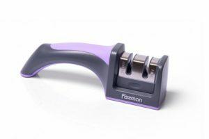 Точилка Fissman для ножей двухшаговая заточки 19x5x6 см 2960