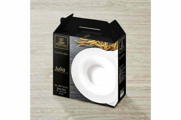 Набор глубоких тарелок Wilmax 22,5 см