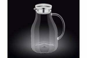Кувшин стеклянный с металлической крышкой Wilmax 2,5 л WL-888211 / A