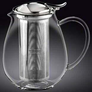 Заварочный чайник стеклянный Wilmax Thermo 600 мл WL-888801 купить недорого онлайн