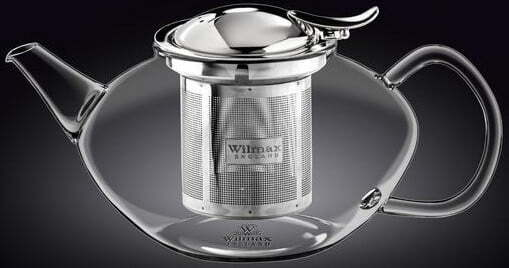 Заварочный чайник с фильтром Wilmax Thermo 1100 мл WL-888805 купить недорого онлайн