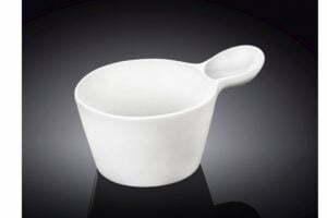 Емкость для соусов фарфоровая Wilmax 100 мл низкая цена