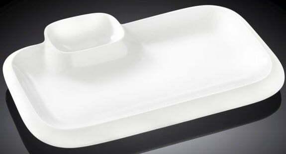 Блюдо прямоугольное Wilmax 25,5х15 см WL-992574 купить недорого онлайн