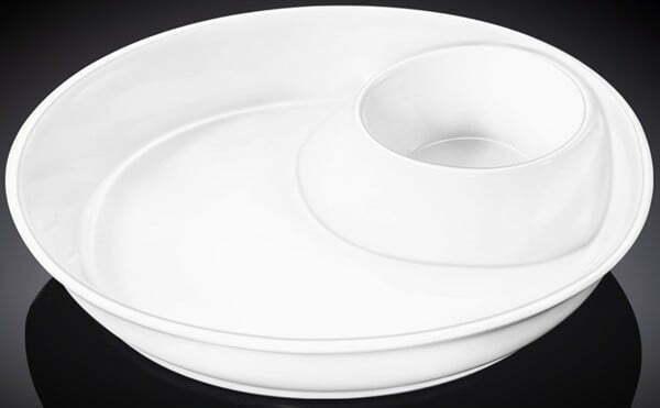 Блюдо круглое Wilmax фарфор 25,5 см WL-992658 купить недорого онлайн