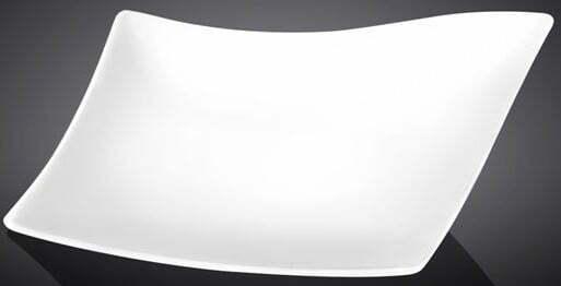 Блюдо Wilmax фарфоровое Diamond 25х21 см WL-992786/A купить недорого онлайн