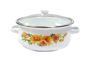Посуда с эмалированным покрытием