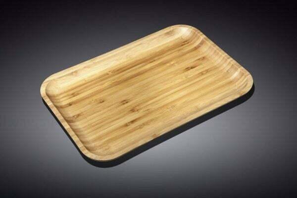 Блюдо бамбуковое Wilmax Bamboo 20,5х10 см