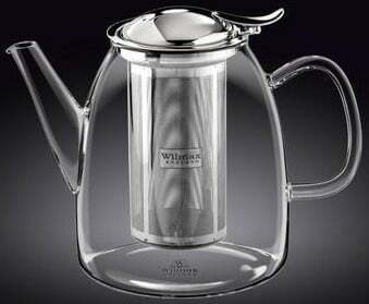 Заварочный чайник стеклянный Wilmax Thermo 600 мл WL-888807 купить недорого оналйн