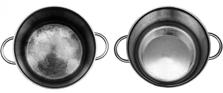 Как и чем чистить посуду из нержавеющей стали
