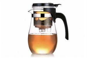 Заварочный стеклянный чайник Fissman Gunfu 900 мл 6534