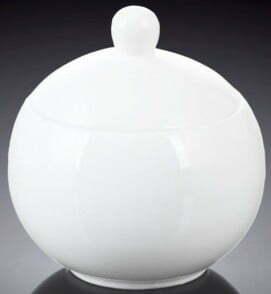 Фарфоровая сахарница Wilmax 325 мл WL-995001 купить недорого онлайн