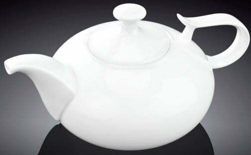 Чайник заварочный Wilmax фарфоровый 450 мл WL-994001/1C купить недорого онлайн