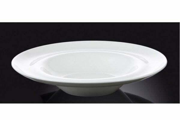 Тарелка Wilmax фарфоровая глубокая 400 мл WL-991023