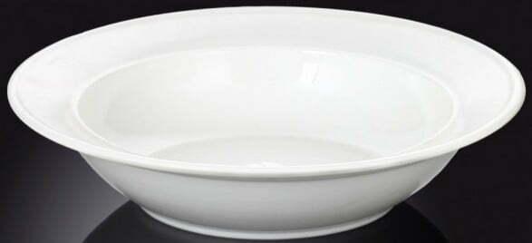 Тарелка для салата из фарфора Wilmax 200 мл WL-991018 купить недорого онлайн