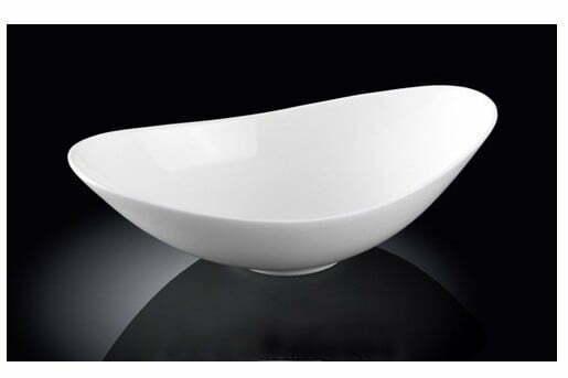 Фарфоровый салатник Wilmax 13x9x4,5 см WL-992390