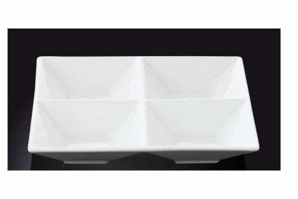 Менажница квадратная Wilmax 20 см низкая цена