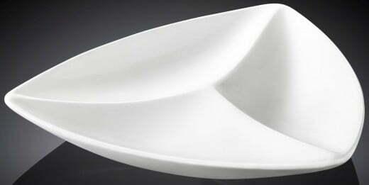 Менажница треугольная Wilmax 20 см WL-992584 купить недорого онлайн