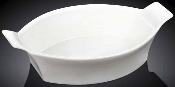 Фарфоровая форма для запекания Wilmax 22см WL-997009 купить недорого онлайн