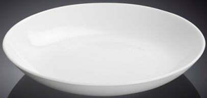 Тарелка Wilmax круглая 23 см фарфоровая WL-991117 купить недорого онлайн