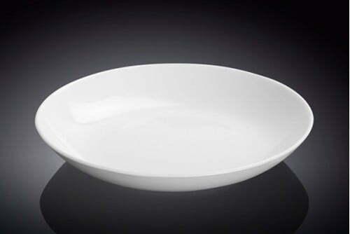 Тарелка Wilmax круглая 23 см фарфоровая WL-991117