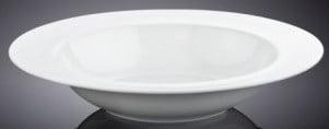 Тарелка Wilmax глубокая фарфоровая 23 см WL-991217 купить недорого онлайн
