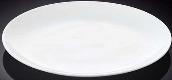 Блюдо круглое Wilmax из фарфора 30,5 см WL-991024 купить недорого онлайн