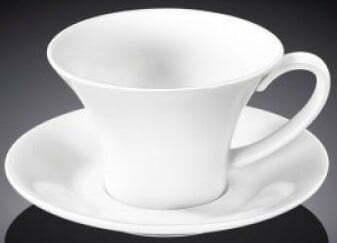 Чашка кофейная с блюдцем Wilmax 100 мл WL-993168 купить недорого онлайн