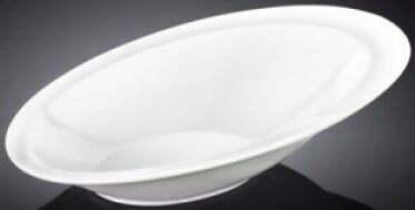 Салатник 21×14,5 см Wilmax из фарфора WL-992656 купить недорого онлайн