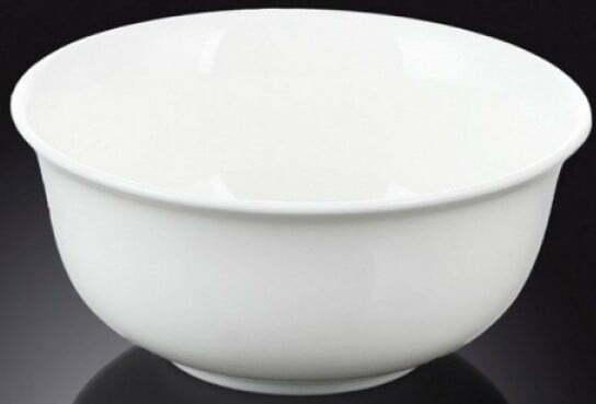 Салатник круглый Wilmax фарфор 11,5 см WL-992003 купить недорого онлайн