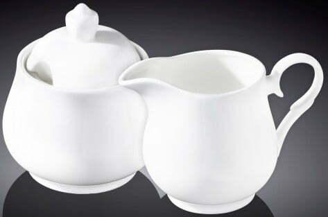 Набор Wilmax сахарница и молочник Color WL-995024/2C купить недорого онлайн