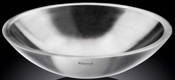 Миска Wilmax St.Steel 3 л нержавеющая сталь WL-553001 / A купить недорого онлайн