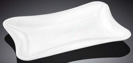 Фарфоровое блюдо Wilmax прямоугольное 25х16,5 см WL-992692 купить недорого онлайн