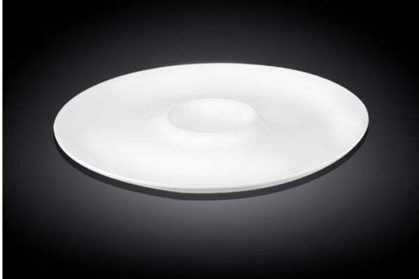 Тарелка с углублением из фарфора Wilmax 28 см WL-992779/A