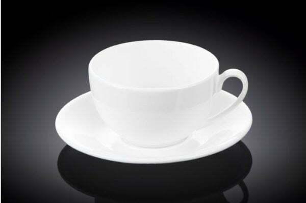 Чашка чайная с блюдцем Wilmax 250 мл WL-993000